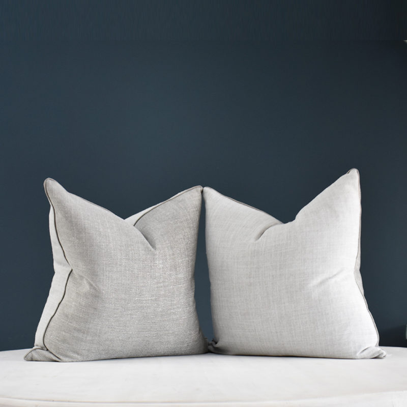 Lustre Grey cushion