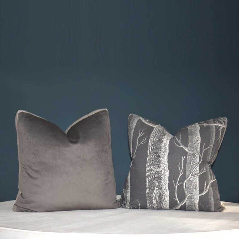 Aspen Grey cushion