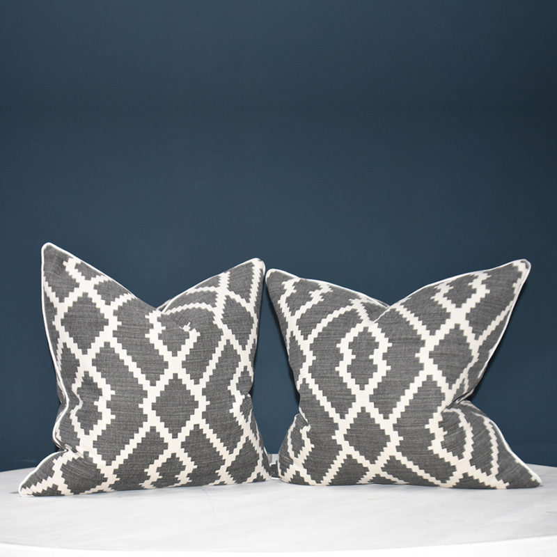 Olivia Dark Grey cushion